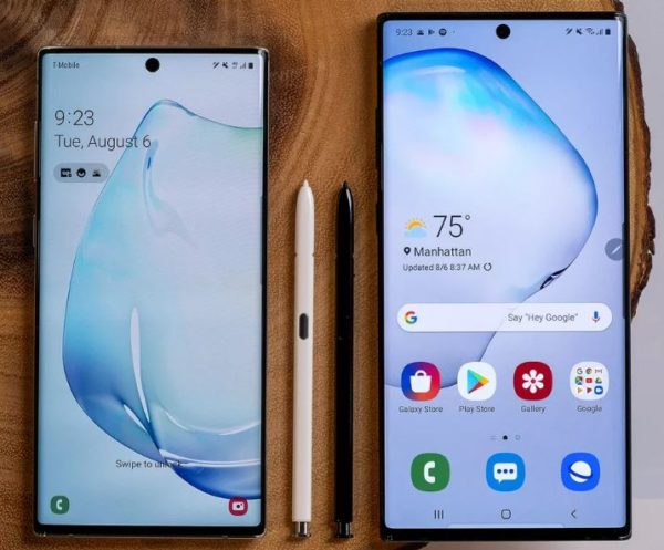 Galaxy Note10 and Note10 Plus e1565287686685