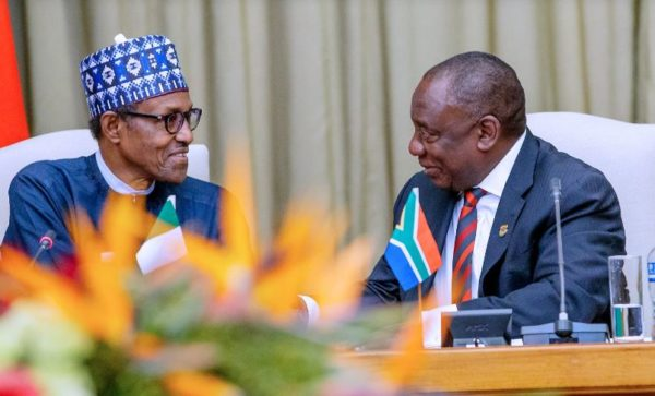 Buhari and Ramaphosa