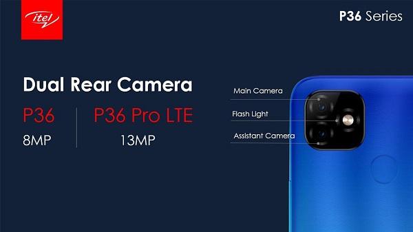 itel P36 Series Camera specs