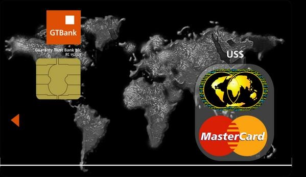 GTBank Dollar Master Card