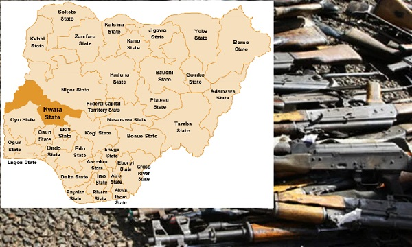 Illegal firearms in kwara
