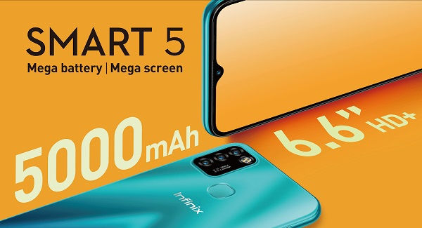 Infinix Smart 5 launched
