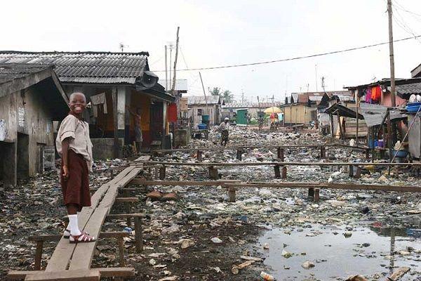 A Slum in Nigeria