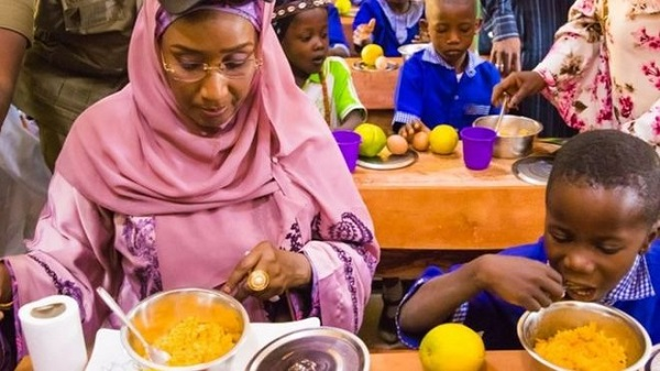 Sadiya Farouq on School Feeding Program