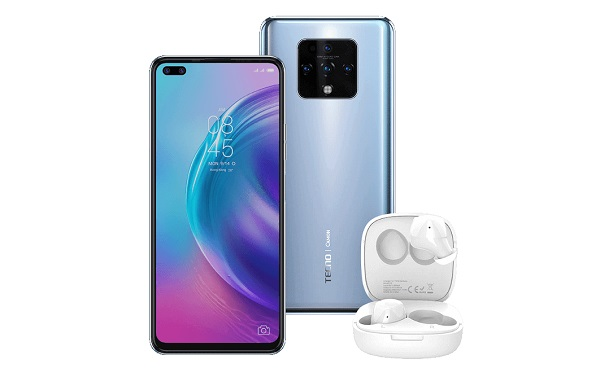 Tecno Camon 16 Premier with TWS Hipods