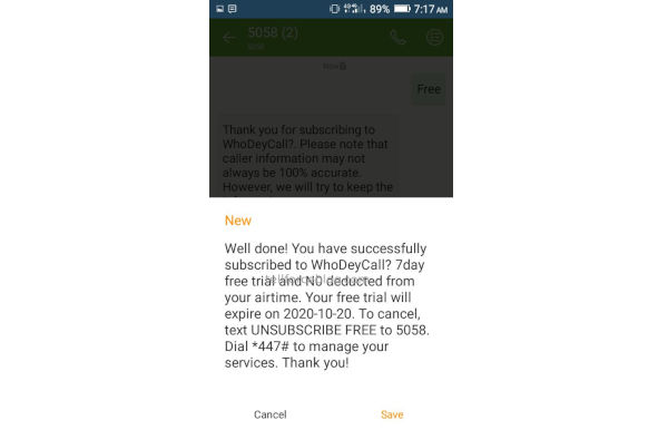 How To Activate MTN WhoDeyCall?