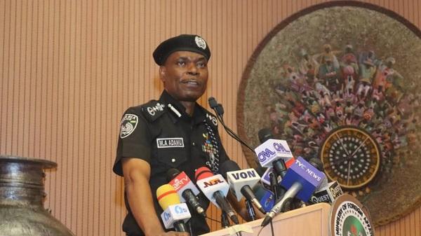 Inspector-General of Police, IGP Abubakar Adamu