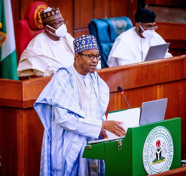 President Buhari Presents 2021 Budget 1