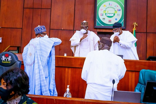 President Buhari Presents 2021 Budget