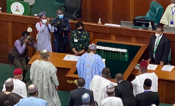 President Buhari Presents 2021 Budget To The National Assembly