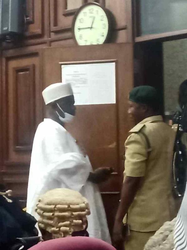 Court Remands Senator Ali Ndume In Prison Custody Over Maina Case