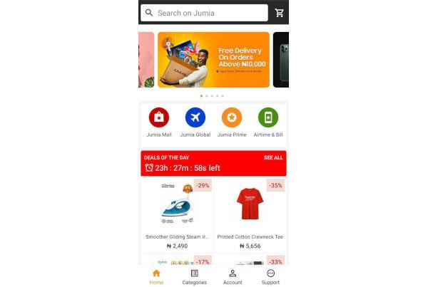Jumia app