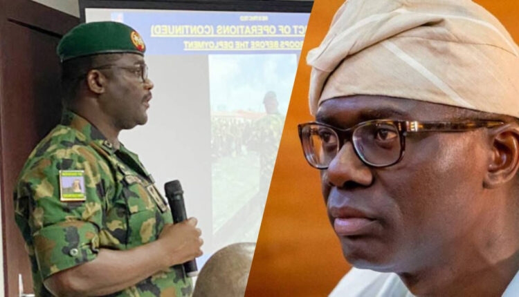 Lekki Shooting Sanwo Olu Inform Us Of Change In Curfew Time – Nigerian Army
