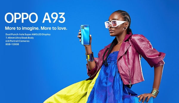 Oppo A93 launched In Nigeria 2