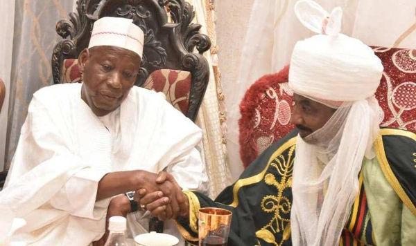 Abdullahi Ganduje and Lamido Sanusi
