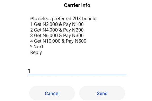 Airtel 20x Recharge Bundle Offer