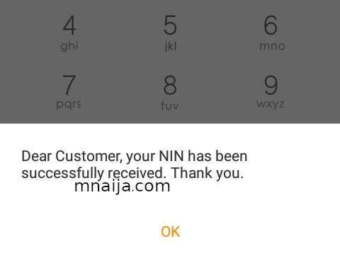 How To Link Your Phone Number With Your NIN 2