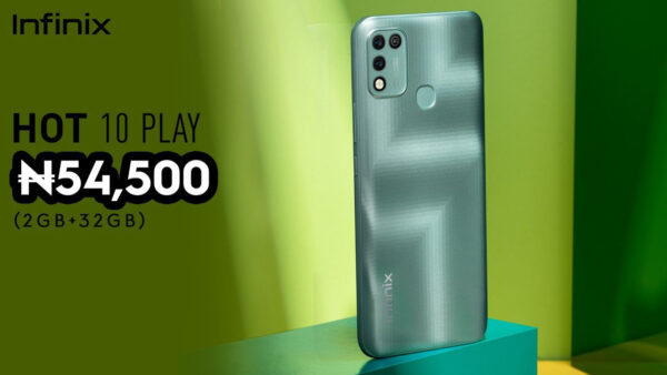 Infinix Hot 10 Play Price In Nigeria