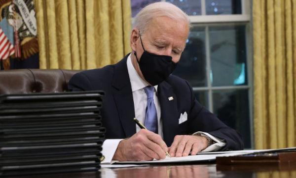 Joe Biden Signed Executive Order
