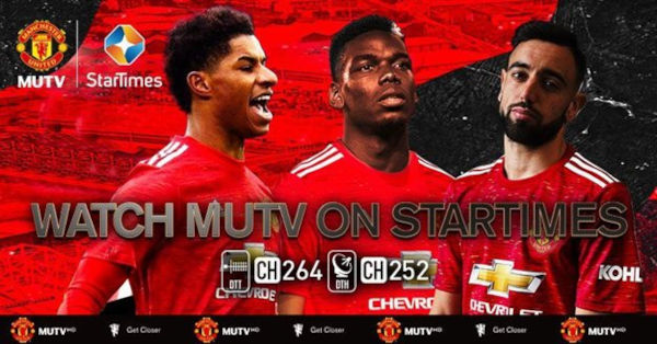 Manchester United Announces Partnership With Startimes