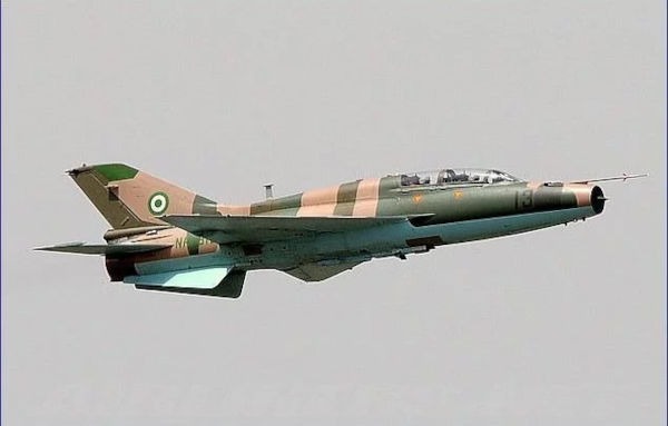 Nigeria Air Force Fighter Jet