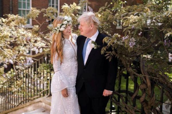 British PM Boris Johnson Marries Fiancee