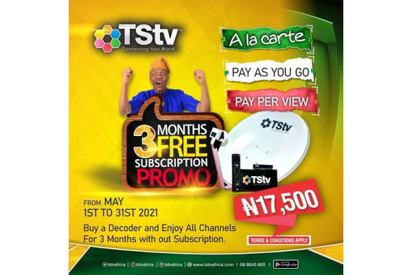 TSTV free 3 months subscription