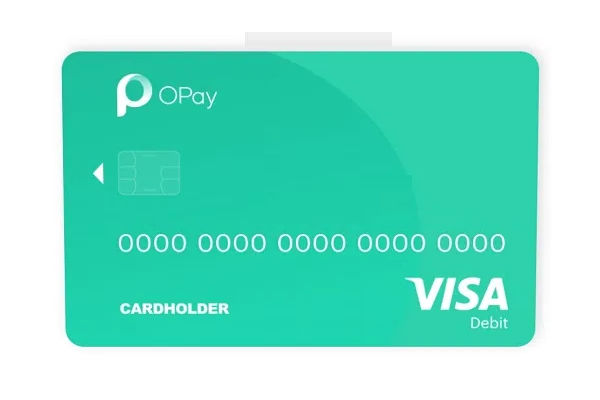 OPay Debit Card Now Available – Here is How to Request For it