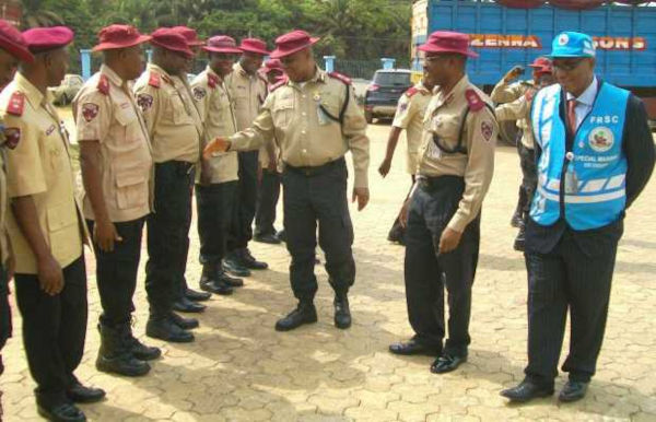 Federal Road Safety Corps officers
